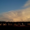 Large Cumulonimbus Cloud over Stornoway 06/02/07