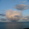 A small Cumulonimbus Cloud with rain at the base 02/05/06