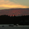 Altocumulus at Sunset over Stornoway Harbour